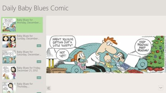 Daily Baby Blues Comic