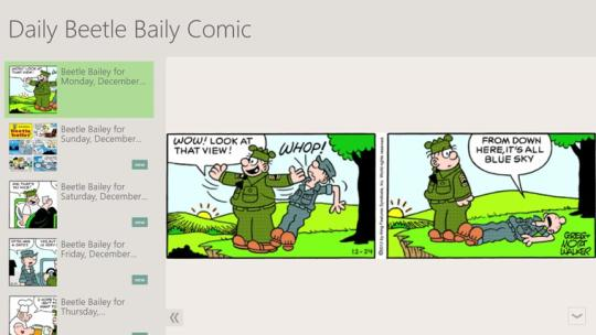 Daily Beetle Baily Comic
