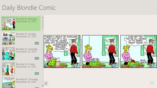Daily Blondie Comic