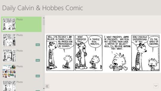 Daily Calvin & Hobbes Comic