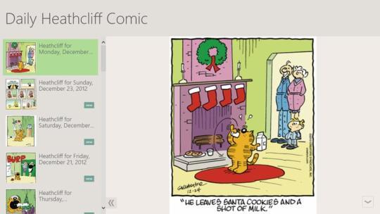 Daily Heathcliff Comic
