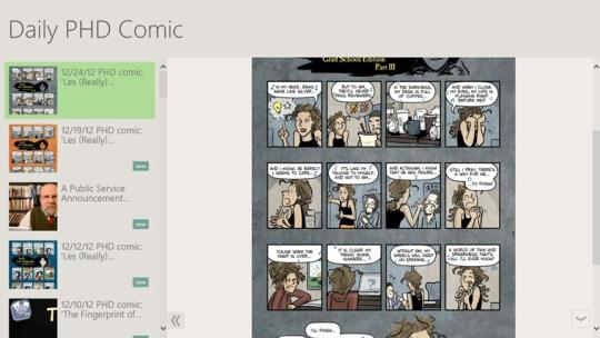 Daily PHD Comic for Windows 8