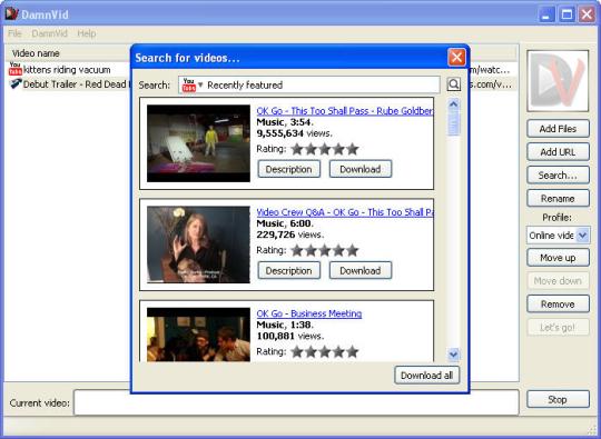 DamnVid Downloader Free Converter