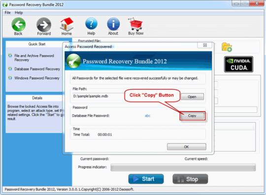 Daossoft Password Rescuer Advanced