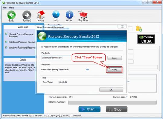Daossoft Password Rescuer Personal