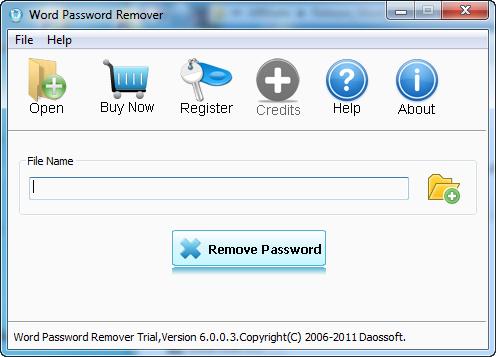 Daossoft Word Password Eraser