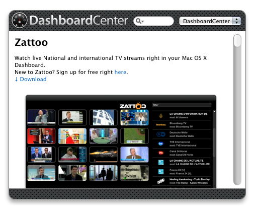 DashboardCenter