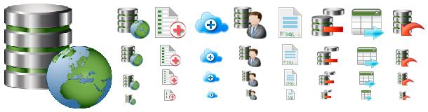 DataBase Icons Pack