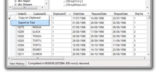 Database Lookup