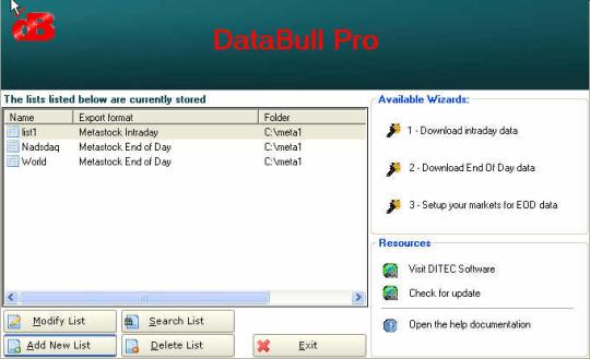 DataBull Pro