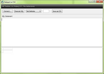 Dataset to CSV