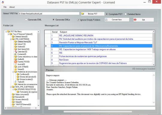 Datavare PST to EML Converter Expert