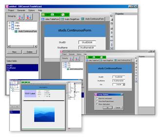 DBConvert FormWizard for MySQL