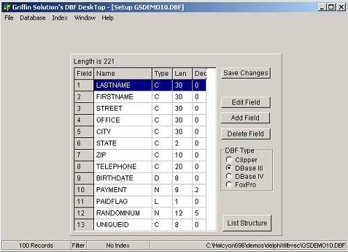 DBF Desktop