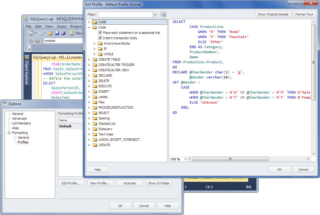 dbForge SQL Complete