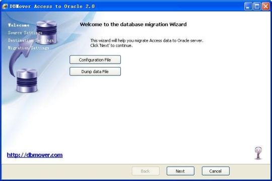 DBMover for Access to Oracle