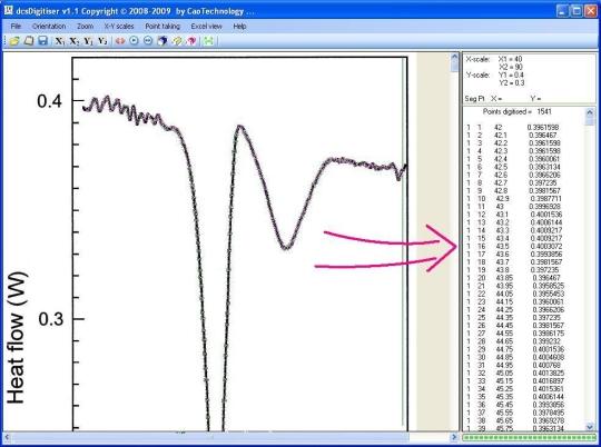 dcsDigitiser Graph Digitizer