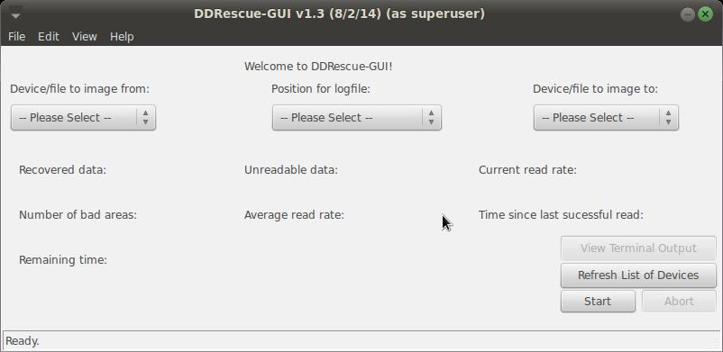 DDRescue-GUI