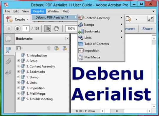 Debenu PDF Aerialist