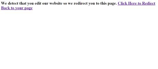 Defa Website Protector