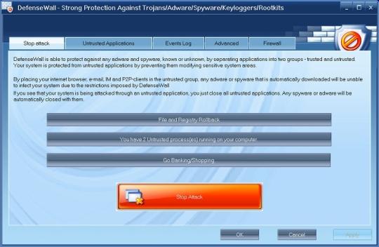DefenseWall Personal Firewall