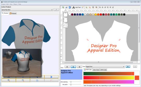 Designer Pro Apparel Edition