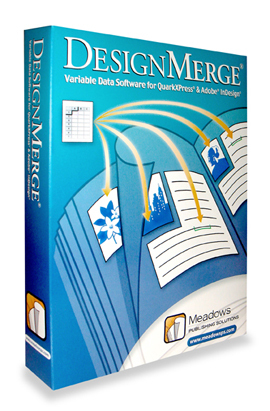 DesignMerge Variable Data Software for Adobe InDesign