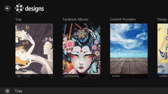 Designs for Windows 8