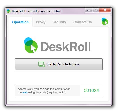 DeskRoll Remote Desktop