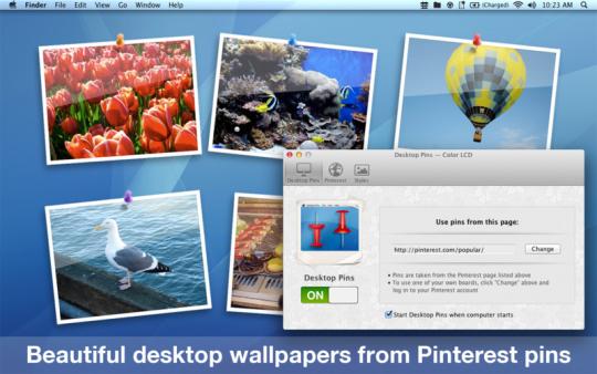 Desktop Pins