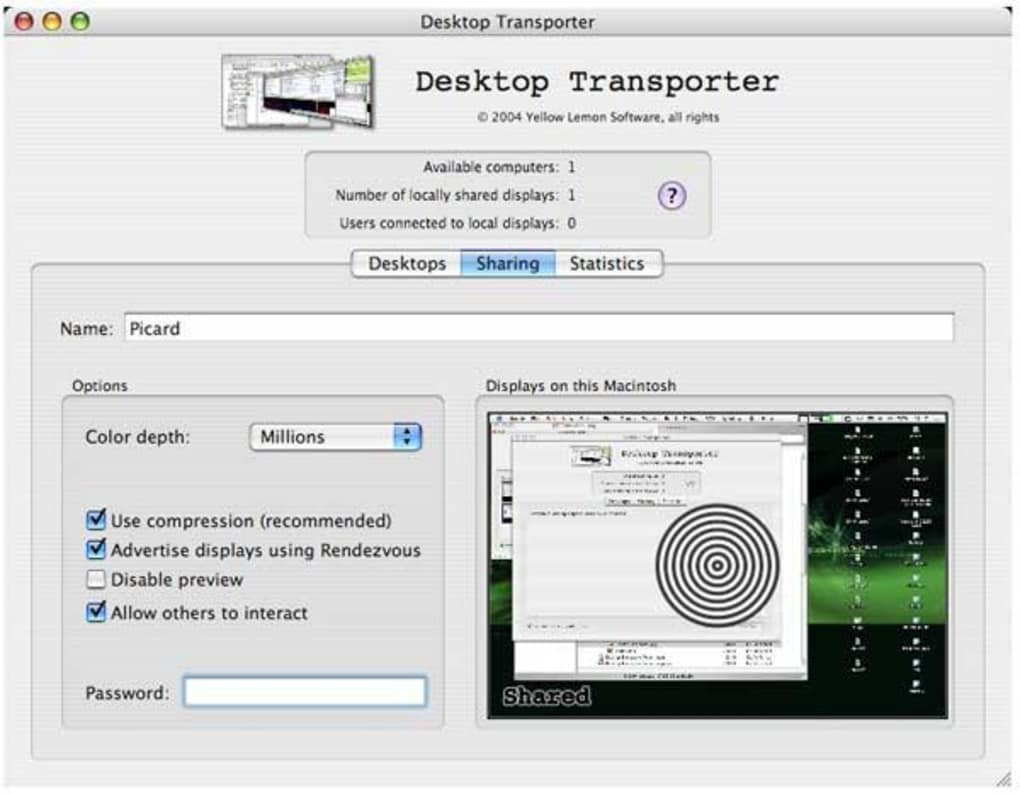 Desktop Transporter