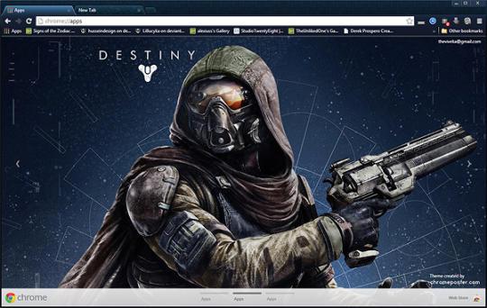 Destiny Theme HD Backgrounds