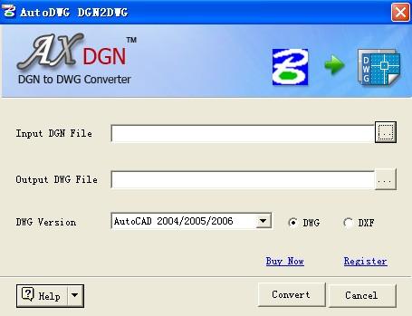 DGN to DWG Converter