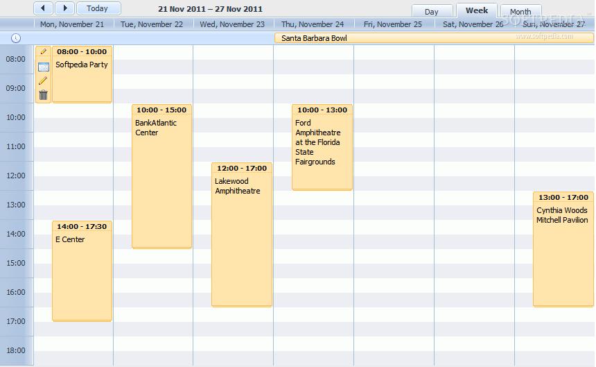 DHTMLX Scheduler .NET