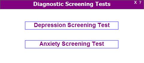Diagnostic Screening Tests
