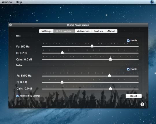Digital Power Station Audio Enhancer