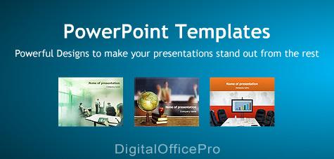 DigitalOfficePro Free PowerPoint Templates