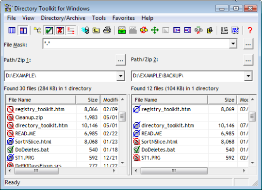 Directory Toolkit Portable