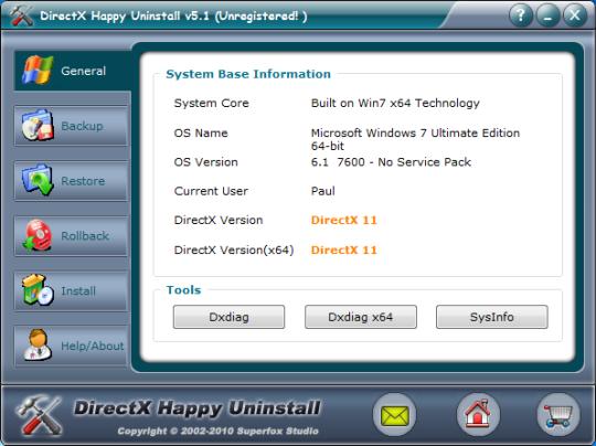 DirectX Happy Uninstall x64