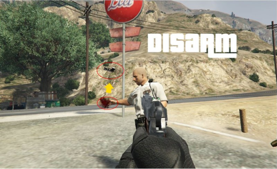 Disarm Mod for GTA V