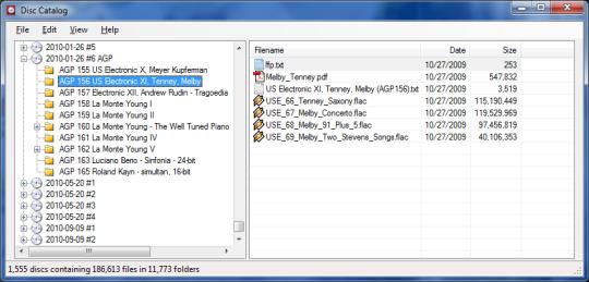 Disc Catalog (64-bit)