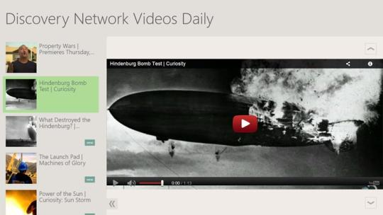 Discovery Network Videos Daily