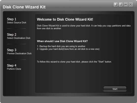 Disk Clone Wizard Kit