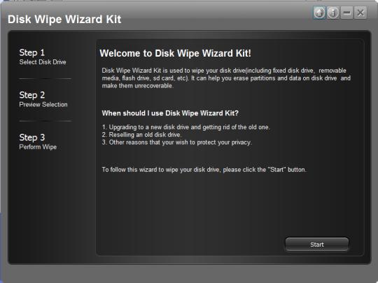 Disk Wipe Wizard Kit