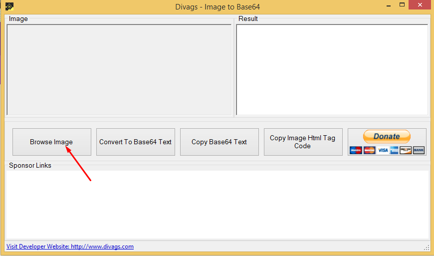 Divags Image to Base64