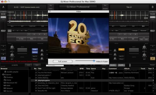 DJ Mixer Pro (Mac)