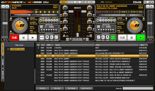 DJ ProMixer NB Netbook Edition