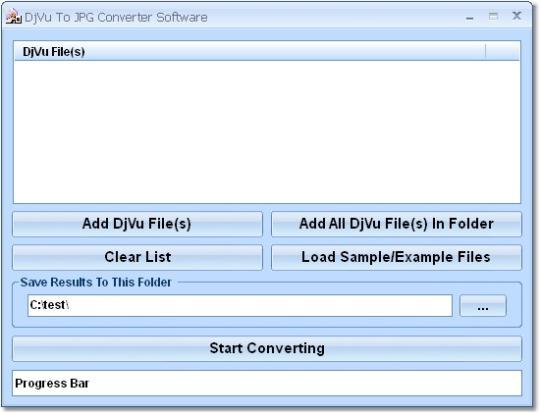 DjVu To JPG Converter Software