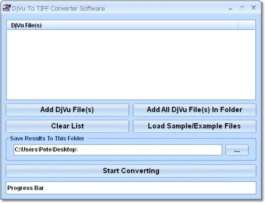 DjVu To TIFF Converter Software