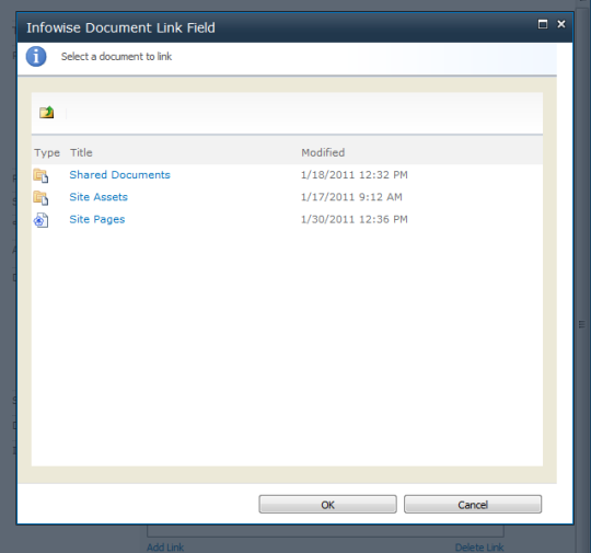 Document Link Field